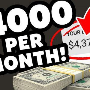 Earn $4000 Per Month (Make Money Online in 2020)