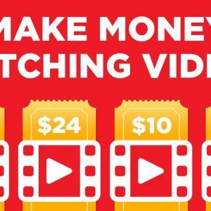 Make $125 Per Day WATCHING VIDEOS (Make Money Online)