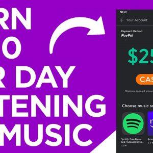 Make $250 Listening To MUSIC! Worldwide and FREE - Make Money Online