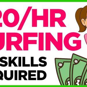 Make Money FAST Surfing Google - No Skills Needed
