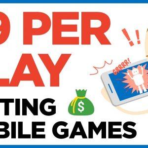 Make Real Money Testing & Playing Games (PayPal Deposits)