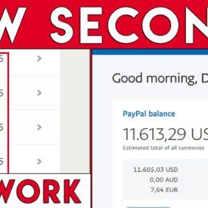 Automatic $5.00 In Seconds Again & Again - UNLIMITED! (Passive Income)