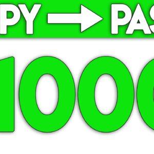 Earn $1000+ On Autopilot Just Copy & Paste! (FREE)