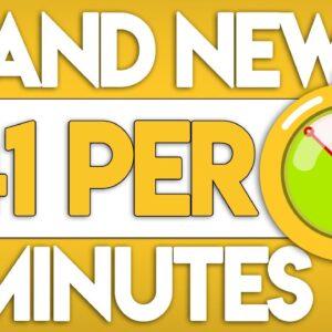 Get $41.00 In 4 Mins Again & Again (NEW Website!) | Make Money Online 2020