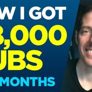 How I Got 98,000 Subscribers in 9 months! - My 2018 Recap