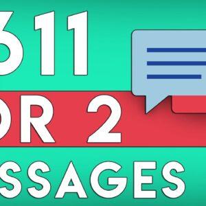 Make $305.50 PER Message You Send! *WORLDWIDE* (Make Money Online 2020)