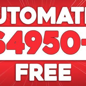Make $4,950/Month On Autopilot For FREE (Make Money Online)