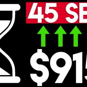 Make $915 Per 45 Seconds of Work (Copy & Paste!)