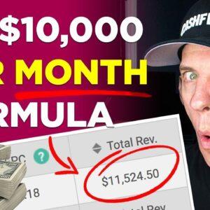 My Money Making Formula For Broke People