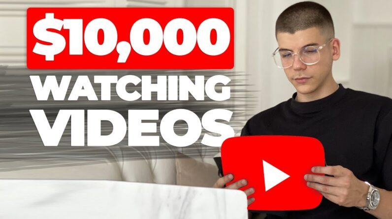 Watch YouTube Videos & Get Paid $10,000+ *NEW Website* (Make Money Online)