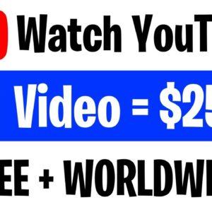 Earn $525 PER HOUR Watching YouTube Videos