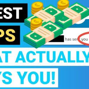 5 BEST Apps to Make Money FAST 2021